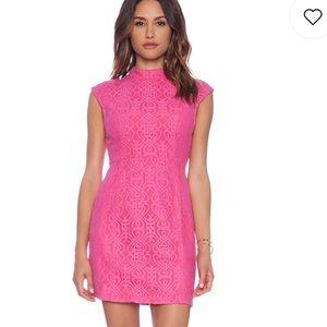Singapore sling dress in pink